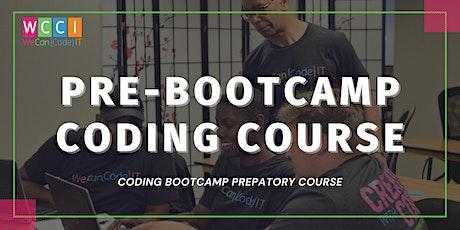 Pre-Bootcamp: Coding Bootcamp Preparatory Course tickets