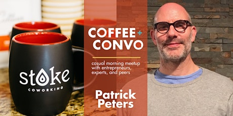 Coffee + Convo with Patrick Peters - Virtual tickets