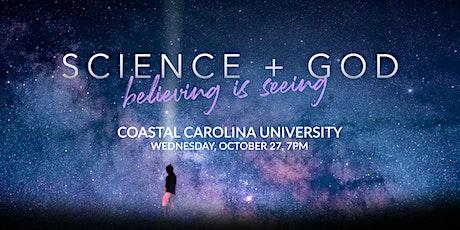 Science + God - Coastal Carolina University tickets