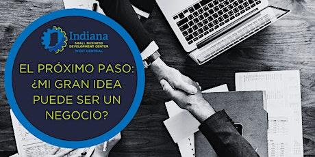El Próximo Paso: ¿Mi gran idea puede ser un negocio? - Modalidad online tickets