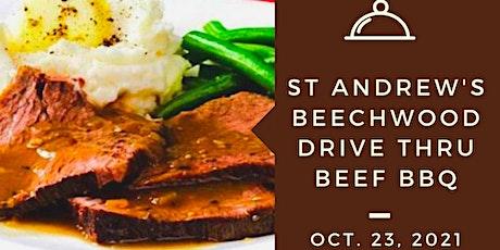 St Andrew's Beechwood Beef  Dinner - Drive Thru tickets