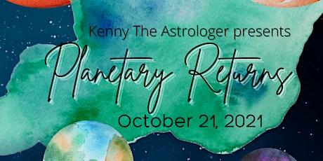 Planetary Returns Workshop tickets