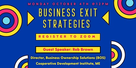Business Exit Strategies tickets