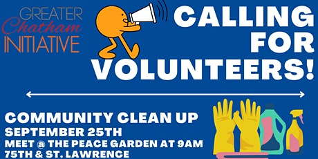 Community Clean up tickets