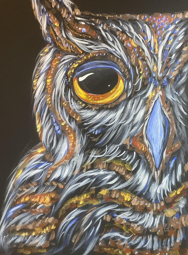 Paint Night in Rockland - Night Owl at G.A.B.'s image