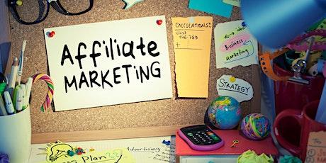 Affiliate Marketing Basics for Content Creators tickets