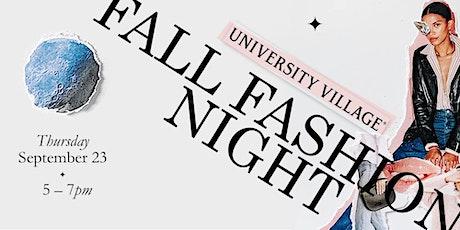 Copy of Fall Fashion Night tickets
