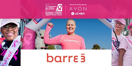 Making Strides Against Breast Cancer: Outdoor Class with Barre3 Bethesda tickets