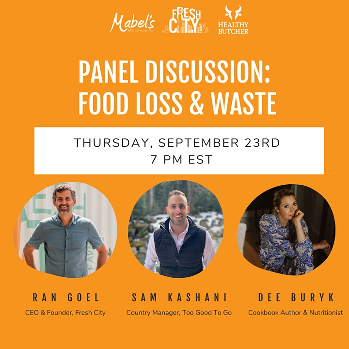 Panel Discussion: Addressing Food Loss and Waste image