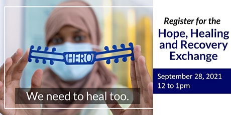 Hope, Healing and Recovery Exchange tickets