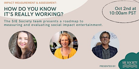 Impact Measurement & Assessment: How Do You Know It's Really Working? tickets