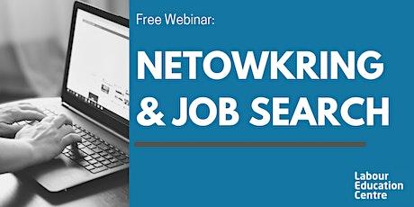 Networking & Job Search Strategies tickets