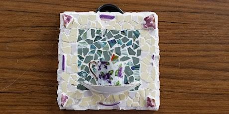 Mosaic Teacup Birdfeeder tickets