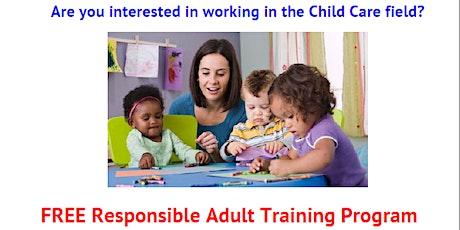 Orientation: Free Responsible Adult Training Program tickets