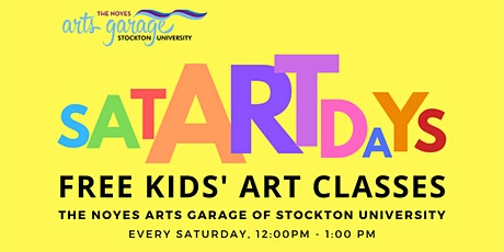 SatARTdays: Free Kids' Art Classes tickets