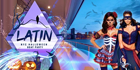 Latin Halloween Party Cruise NYC: Haunted Yacht Saturday Night tickets