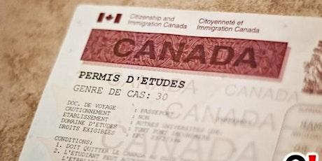 Demande de permis d'études canadien: astuces gagnantes et pièges à éviter. billets