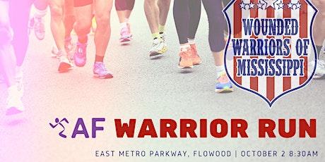 AF Warrior 5k tickets