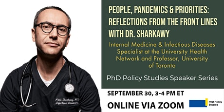 People, Pandemics & Priorities: Reflections From the Front Lines tickets