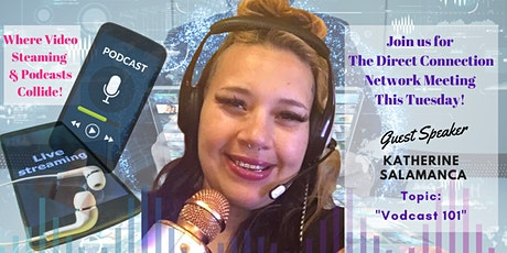 The Direct Connection Network Zoom Meeting with Katherine Salamanca tickets