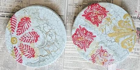 Decoupage Coasters tickets