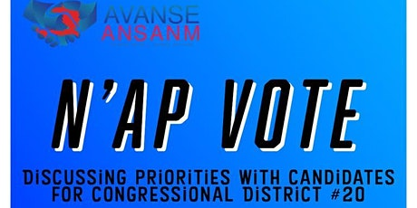 N'ap Vote: Florida Congressional District 20 Election Forum tickets