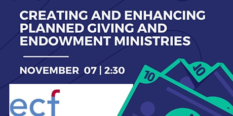 Creating & Enhancing Planned Giving Ministries for Your Congregation tickets