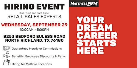 Fort Worth Area - Live Hire Event tickets
