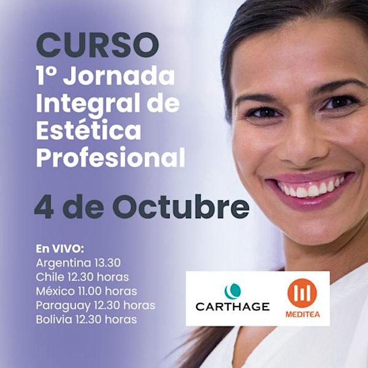 1° Jornada Integral de Estética Profesional - Edición ON LINE image