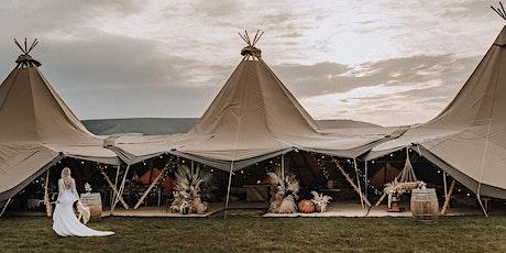 Tribeca Tipis wedding open day showcase tickets