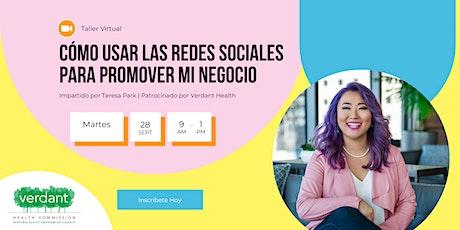 Cómo usar las Redes Sociales para promover mi negocio boletos