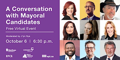 A Conversation with Mayoral Candidates tickets
