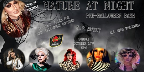 Nature at Night; Pre-Halloween Bash tickets