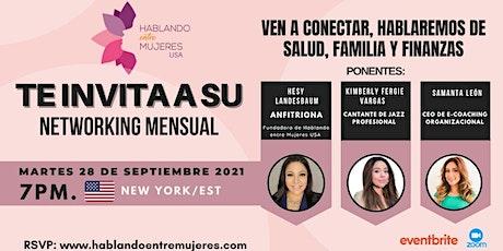 Networking Mensual de Hablando entre Mujeres USA tickets