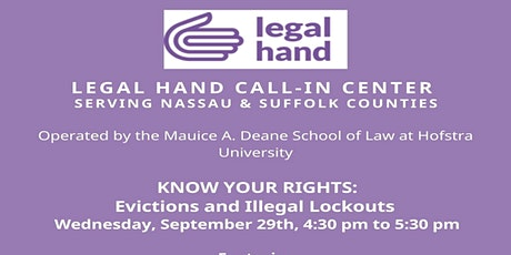 Know Your Rights Workshop - Eviction and Illegal Lockouts tickets