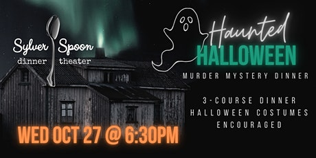 Haunted Halloween Murder Mystery Party at Sylver Spoon tickets