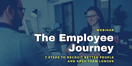 The Employee Journey w/ Gregory Cleary [Webinar] tickets