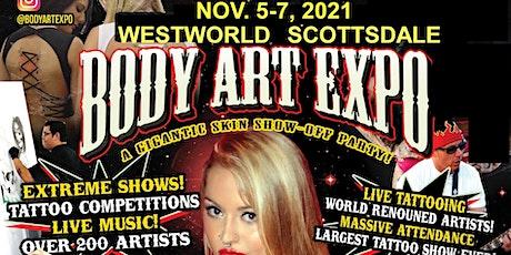 TATTOO & BODY ART EXPO tickets