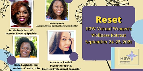 Reset: H3W Virtual Women's Wellness Retreat tickets