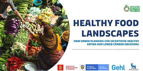 Healthy Food Landscapes - How Urban Planning Can Incentivise Healthy Eating tickets