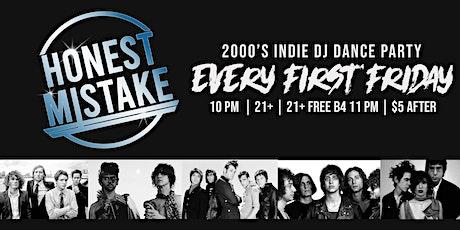 Honest Mistake: 2000's INDIE DJ Dance Party! tickets