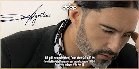 Cena show con la presentación en vivo de Daniel Agostini entradas