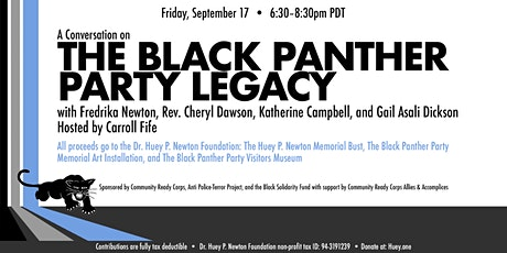 A Conversation on The Black Panther Party Legacy tickets