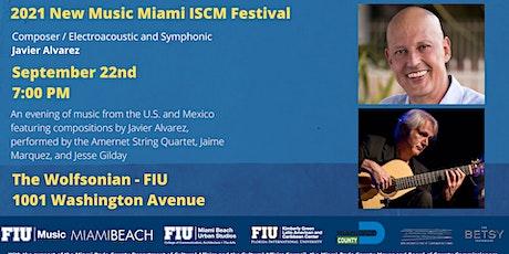 New Music Miami ISCM Festival tickets