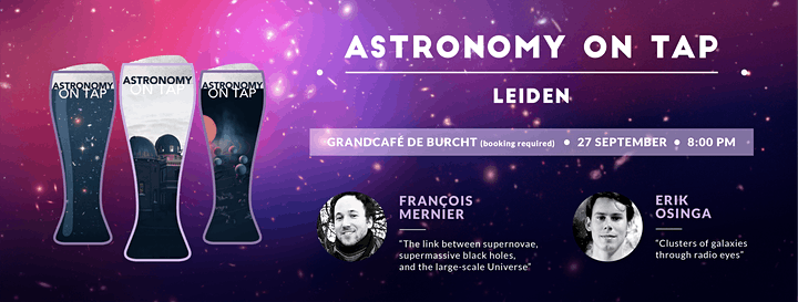 Astronomy on Tap Leiden - Galaxies in the Universe! image