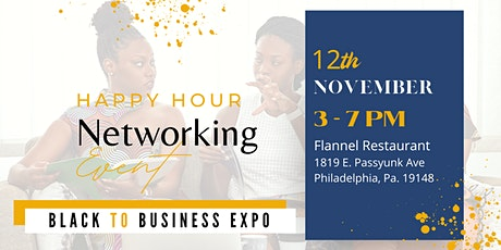 Networking with Happy Hour tickets