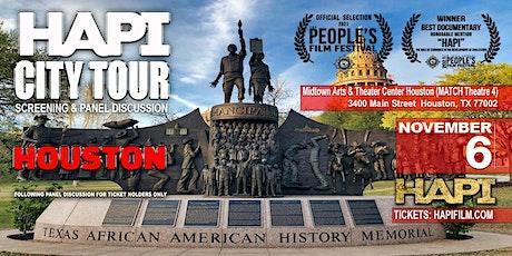 HAPI CITY TOUR -  Screening & Panel Discussion - Houston tickets