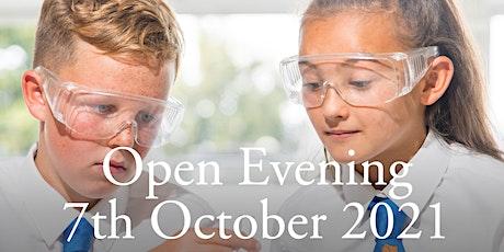 Sunbury Manor School Open Evening  (September 2022 Year 7 Admissions) tickets