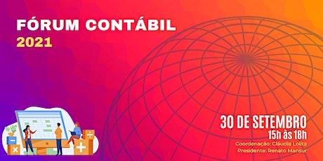 Fórum Contábil 2021 - Sescon-RJ ingressos