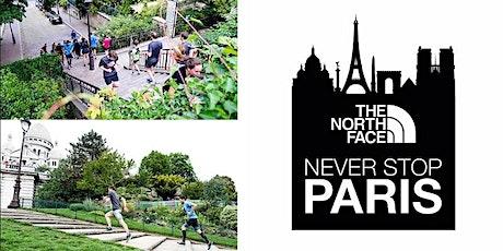 Never Stop Paris - Have You Ever Run Montmartre - Mercredi 22 sept. tickets